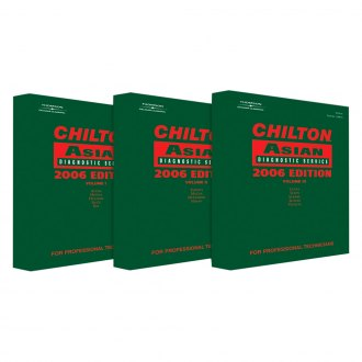 Chilton® - Service and Repair Manual Set for Asian Vehicles