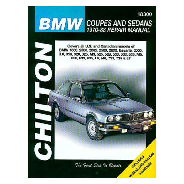 chilton 18300 bmw coupes and sedans repair manual rh carid com 6 Series BMW Manual Transmission BMW M6 Owner's Manual