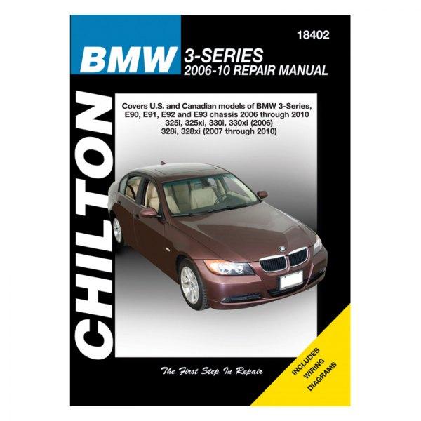 chilton 18402 bmw 3 series repair manual rh carid com bmw e90 325d owner's manual 2013 BMW F30