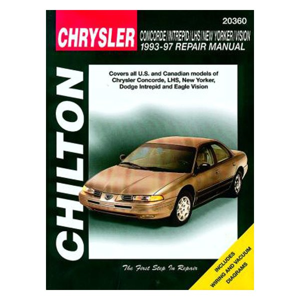Chilton® - Chrysler Concorde/Intrepid/LHS/New Yorker/Vision Repair Manual