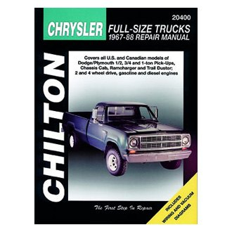 Chilton® - Chrysler Full-Size Trucks Repair Manual