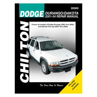 Chilton® - Dodge Durango/Dakota Repair Manual