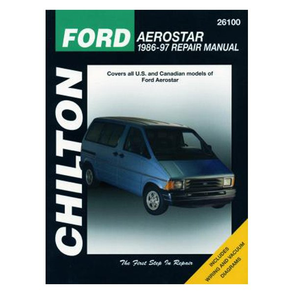 chilton 26100 ford aerostar repair manual rh carid com Ford Aerostar Van Lifted Ford Aerostar