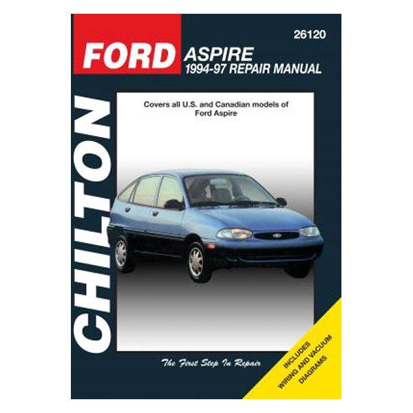 chilton® - ford aspire repair manual