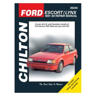 Chilton® - Ford Escort/Lynx Repair Manual