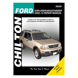 Chilton® - Ford Explorer and Mercury Mountaineer Repair Manual