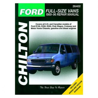 Chilton® - Ford Full-Size Vans Repair Manual