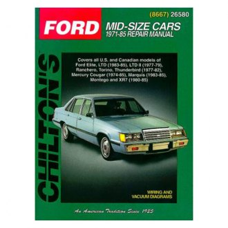 Chilton® - Ford Mid-Size Cars Repair Manual