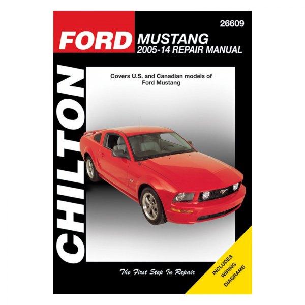 chilton 26609 ford mustang repair manual rh carid com 2005 Mustang Door Lock Relay Display Lights 2005 Mustang Engine