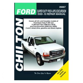 Chilton® - Ford Super Duty Pick-Ups/Excursion Repair Manual