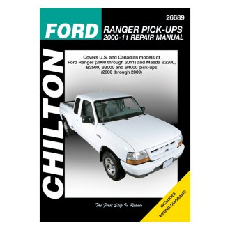 Chilton® - Ford Ranger Pick-Ups Repair Manual