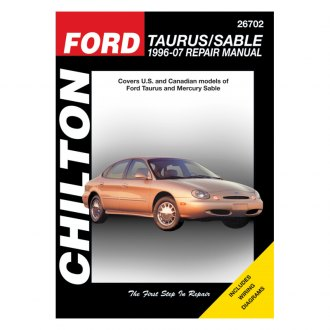 Chilton® - Ford Taurus/Sable Repair Manual