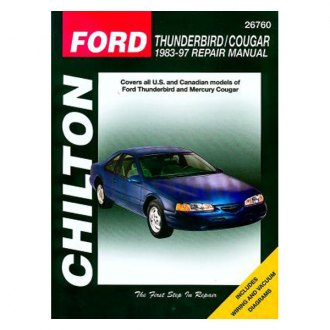 Chilton® - Ford Thunderbird/Mercury Cougar Repair Manual