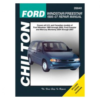 Chilton® - Ford Windstar/Freestar Repair Manual