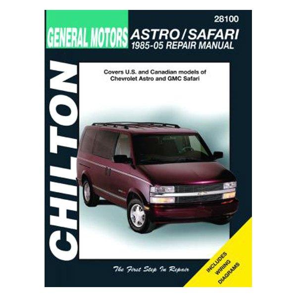 chilton 28100 general motors astro safari repair manual rh carid com 1996 GMC Safari 1994 GMC Safari Problems
