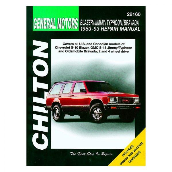 chilton 28160 general motors blazer jimmy typhoon bravada repair rh carid com 1990 GMC Jimmy 1995 GMC Jimmy