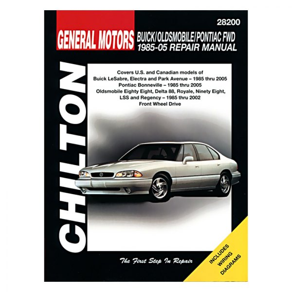 chilton 28200 general motors buick oldsmobile pontiac repair manual rh carid com 2000 Pontiac Bonneville 2001 pontiac bonneville repair manual free download