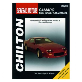 Chilton® - General Motors Camaro Repair Manual