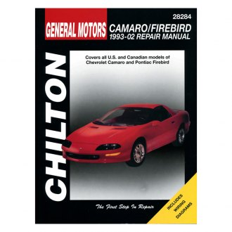 Chilton® - General Motors Camaro/Firebird Repair Manual