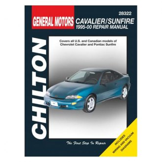 Chilton® - General Motors Cavalier/Sunfire Repair Manual