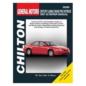 Chilton® - General Motors Century/Lumina/Grand Prix/Intrigue Repair Manual