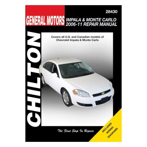 chilton 28430 general motors impala monte carlo repair manual rh carid com monte carlo repair manual pdf 1980 monte carlo repair manual