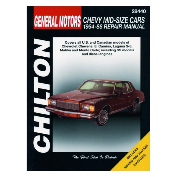 chilton chevy chevelle 1968 repair manual rh carid com 1966 El Camino 1968 el camino service manual