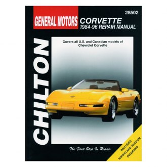 Chilton® - General Motors Corvette Repair Manual