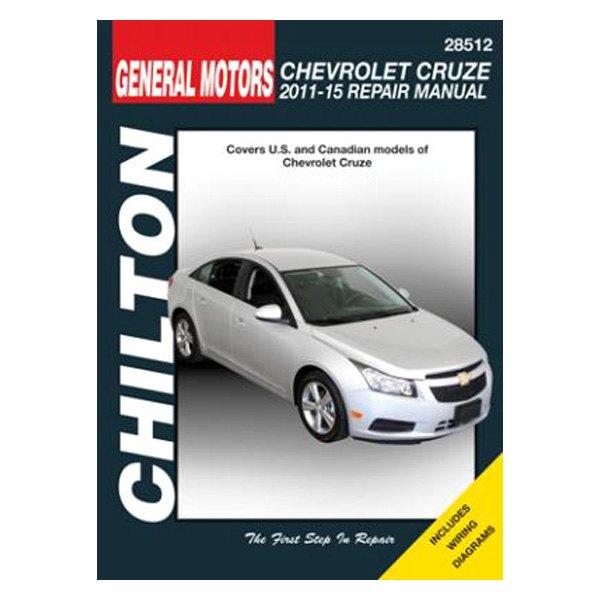 chilton 28512 general motors chevrolet cruze repair manual rh carid com 2011 chevy cruze repair manual pdf 2011 chevrolet cruze repair manual