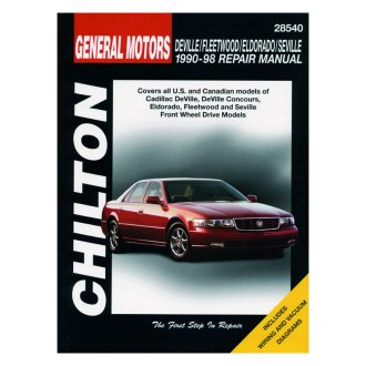 Chilton® - General Motors DeVille/Fleetwood/Eldorado/Seville Repair Manual