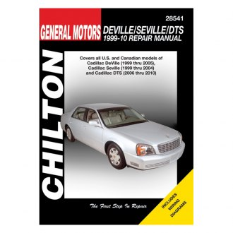 Chilton® - General Motors DeVille/Seville/DTS Repair Manual