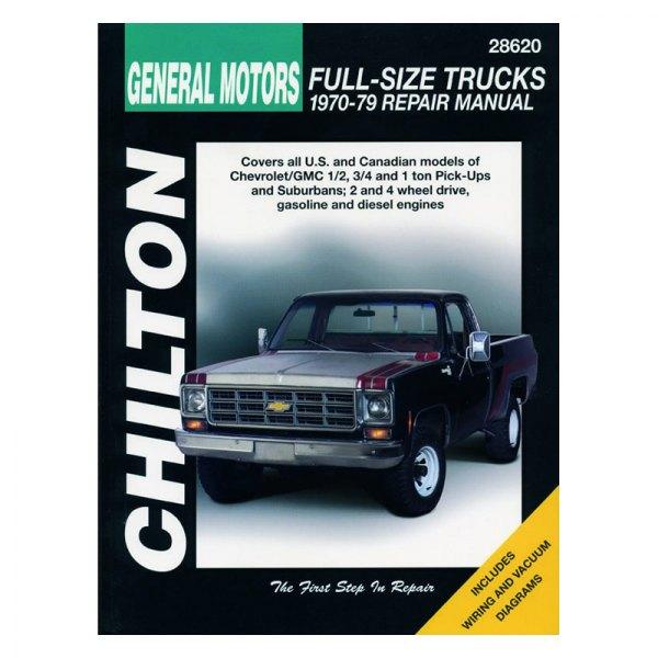 Chevy Truck Repair Manuals