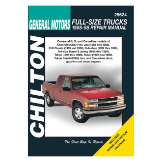 Chilton® - General Motors Full-Size Trucks Repair Manual