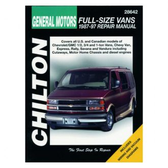 Chilton® - General Motors Full-Size Vans Repair Manual