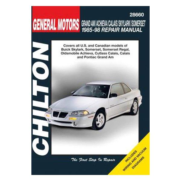 chilton 28660 general motors am achieva calais sky somerset rh carid com 1994 buick skylark repair manual 1965 buick skylark repair manual