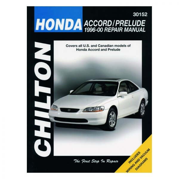 chilton 30152 honda accord prelude repair manual rh carid com 1997 Honda Prelude 1996 Honda Accord