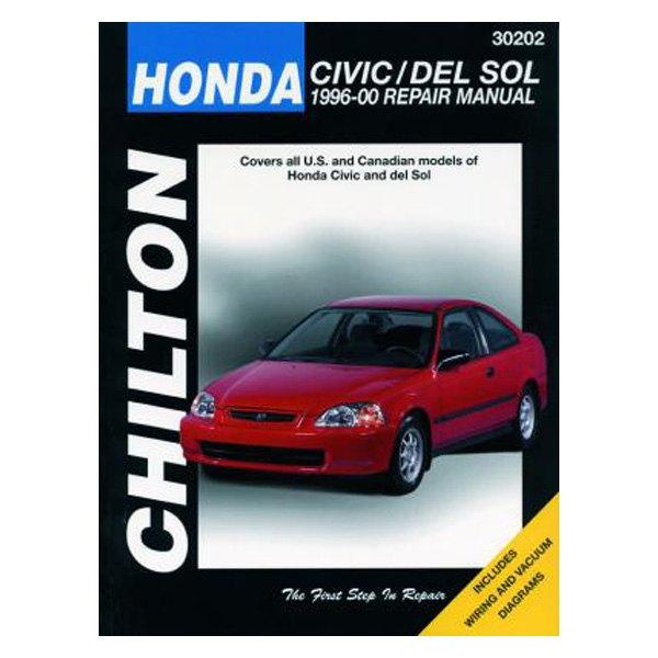 chilton 30202 honda civic del sol repair manual rh carid com 1996 Chevrolet Cavalier Red 2000 Chevrolet Cavalier