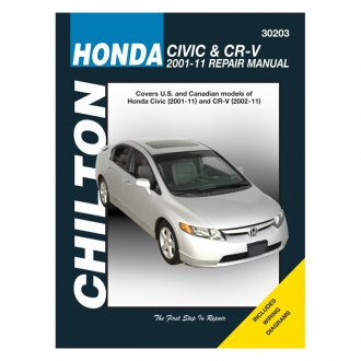 Chilton® - Honda Civic/CR-V Repair Manual