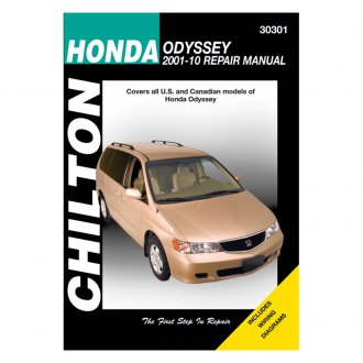 Chilton® - Honda Odyssey Repair Manual