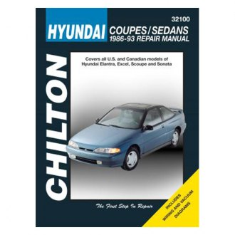 Chilton® - Hyundai Coupes/Sedans Repair Manual