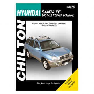 Chilton® - Hyundai Santa Fe Repair Manual