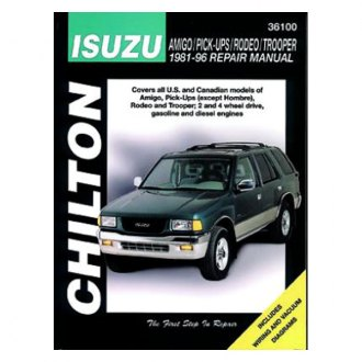 Chilton® - Isuzu Amigo Pick-Ups Repair Manual