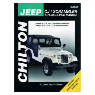 Chilton® - Jeep CJ/Scrambler Repair Manual