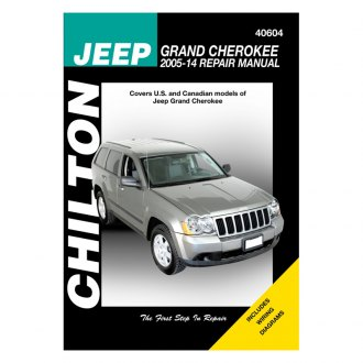 Chilton® - Jeep Grand Cherokee Repair Manual