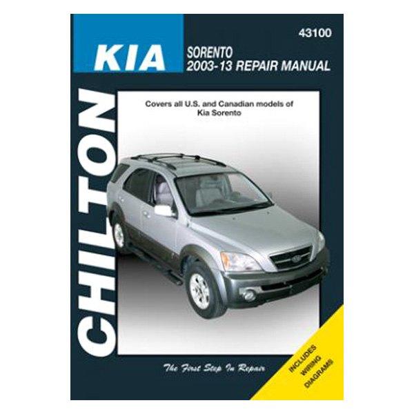 chilton 43100 kia sorento repair manual rh carid com 2004 Kia Sorento Problems 2004 Kia Sorento Problems