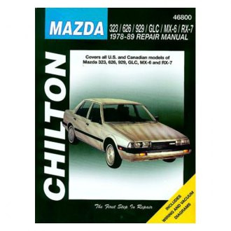 Chilton® - Mazda 323/626/929/GLC/MX-6/RX-7 Repair Manual