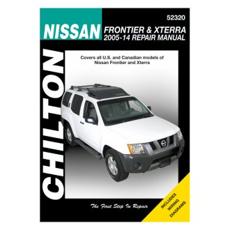 Chilton® - Nissan Frontier/Xterra Repair Manual