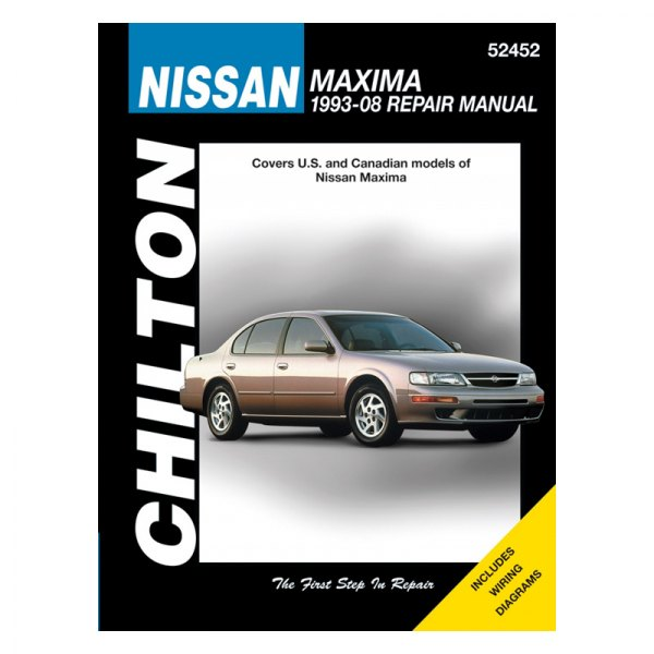 chilton 52452 nissan maxima repair manual rh carid com 1998 nissan maxima factory service manual pdf 1998 nissan maxima service manual free download