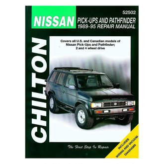 Chilton® - Nissan Pick-Ups/Pathfinder Repair Manual