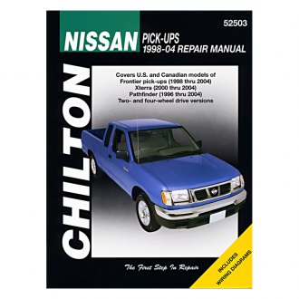 Chilton® - Nissan Pick-Ups Repair Manual
